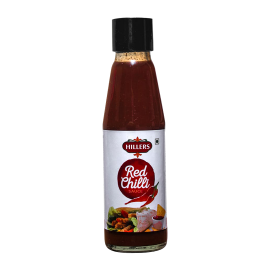 Hillers Red Chilli Sauce 200G
