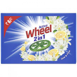 Active Wheel 2 In 1 Bar 120Gm