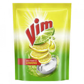 Vim Dishwash Lemon Liquid 500Ml